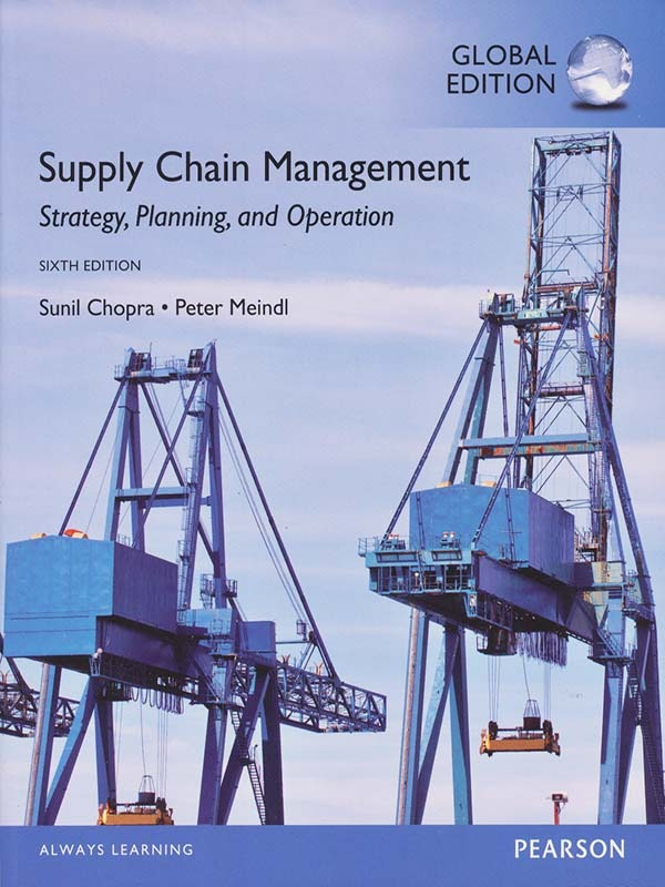 Supply Chain Management 6e/CHOPRA