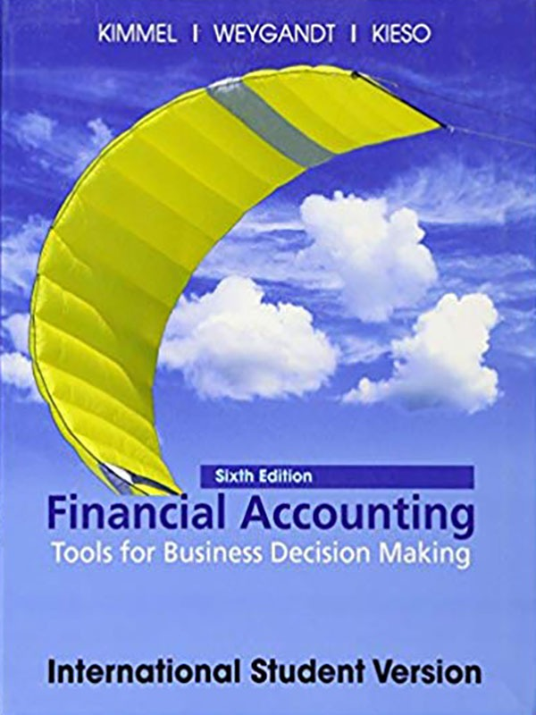 Financial accounting tools for buss 6e/KIMMEL