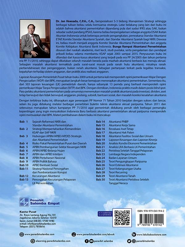 Bunga Rampai Akuntansi Pemerintahan Buku 2/Jan Hoesada