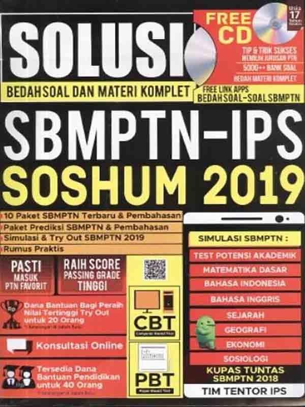 Solusi Bedah Soal dan Materi Komplet SBMPTN-IPS SOSHUM 2019