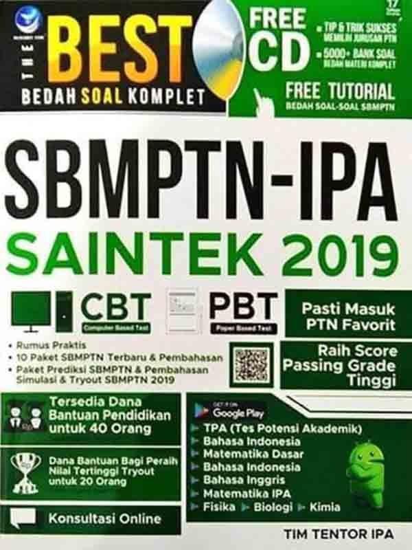 The Best Bedah Soal Komplet SBMPTN-IPA SAINTEK 2019