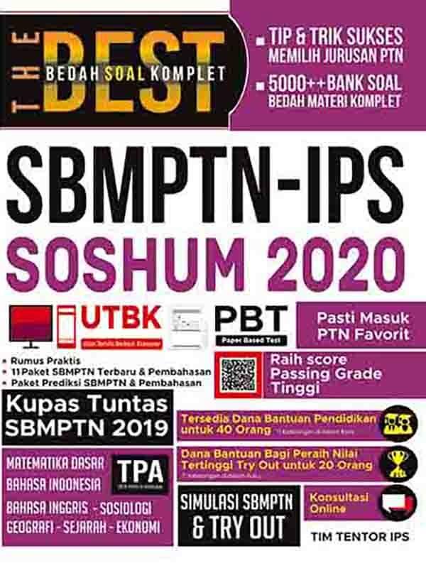 The Best Bedah Soal Komplet SBMPTN-IPS SOSHUM 2020