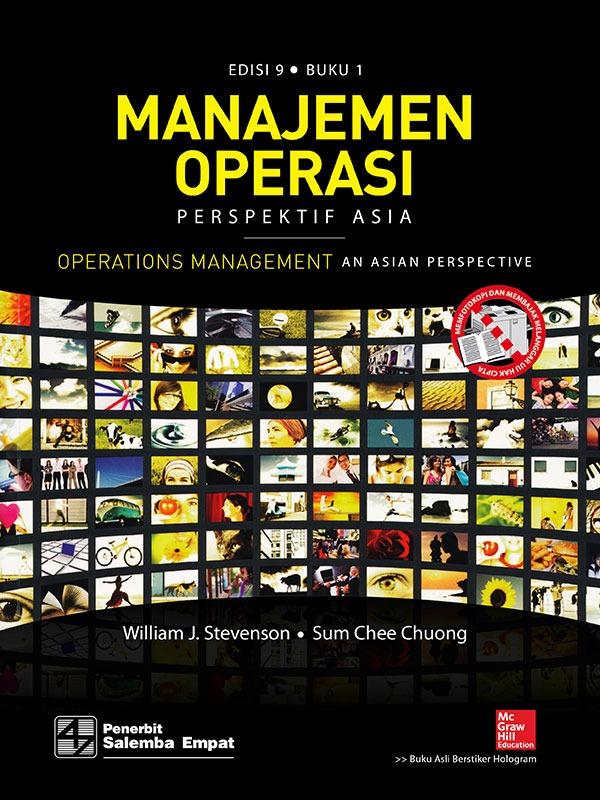 Manajemen Operasi Perspektif Asia (e9) 1/Stevenson (BUKU SAMPEL)