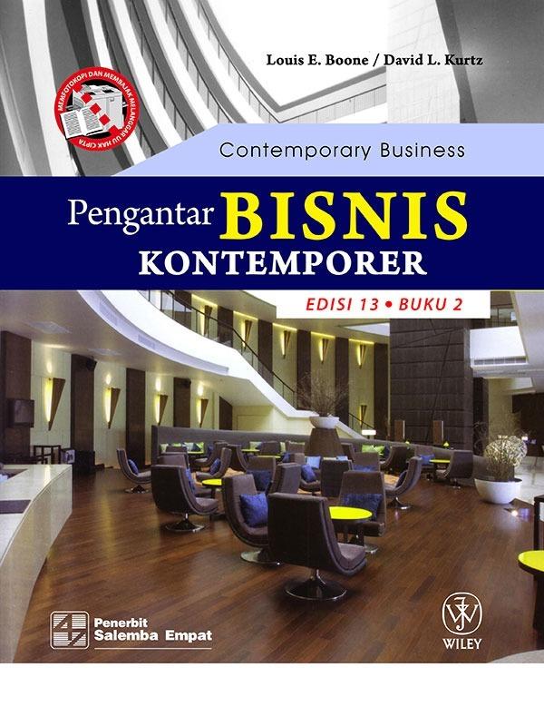 Pengantar Bisnis Kontemporer (e13) 2-Koran/Boone (BUKU SAMPEL)