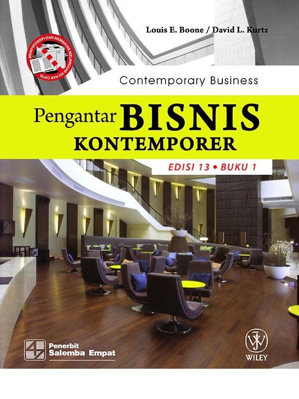 Pengantar Bisnis Kontemporer (e13) 1-Koran/Boone (BUKU SAMPEL)