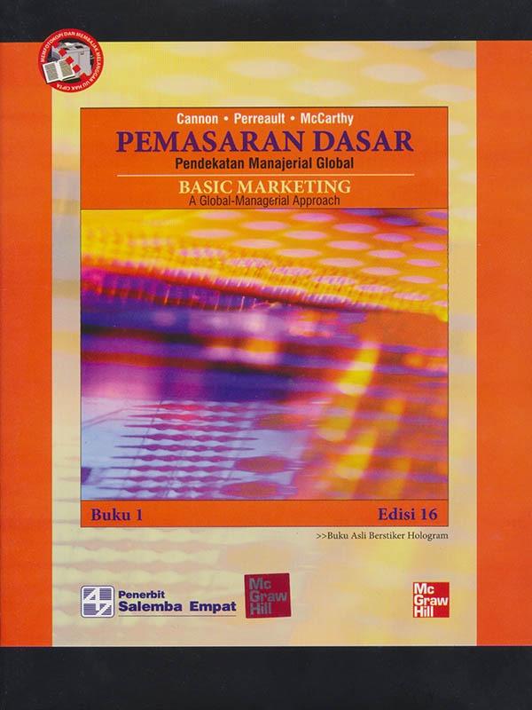 Pemasaran Dasar Pendekatan Manajerial Global Buku 1 Edisi 16/McCarthy
