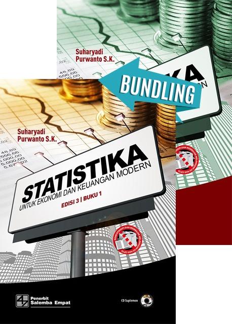 Statistika untuk Ekonomi dan Keuangan Modern Edisi 3 Buku 1 Dan Buku 2/Suharyadi,Purwanto