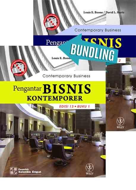Pengantar Bisnis Kontemporer Edisi 13 Buku 1-HVS/Boone dan Pengantar Bisnis Kontemporer Edisi 13 Buku 2-HVS/Boone