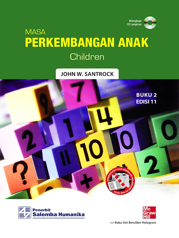 Perkembangan Anak 2 (e11)/Santrock (BUKU SAMPEL)