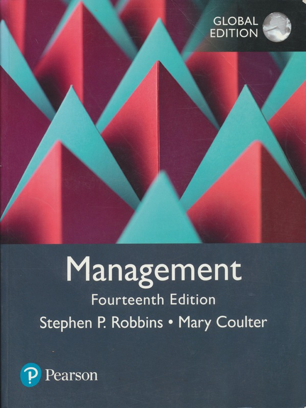 Management  14th Edition / Robbins, Coulter