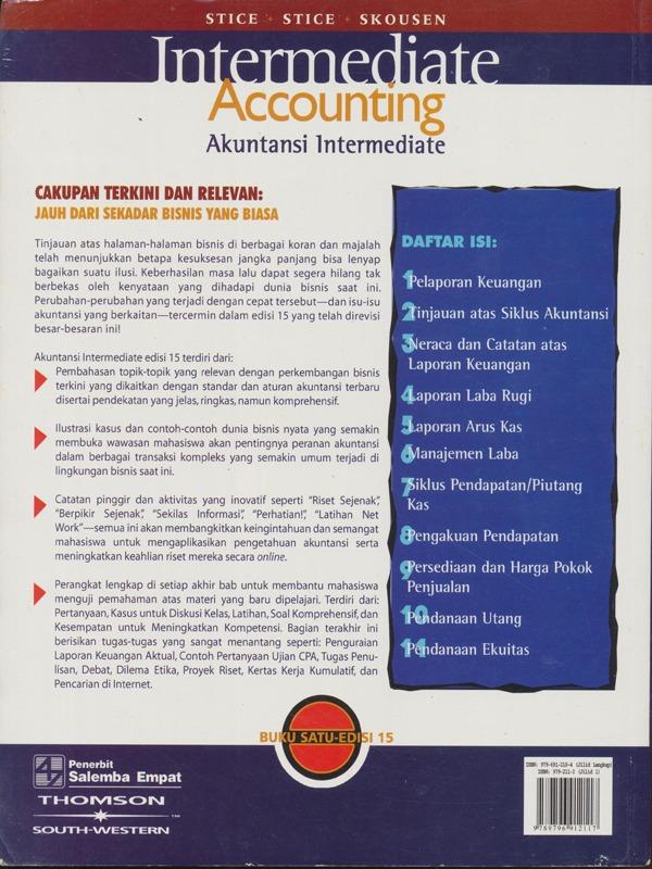 Akuntansi Intermediate 1 (e15)-Koran/Skousen, Stice