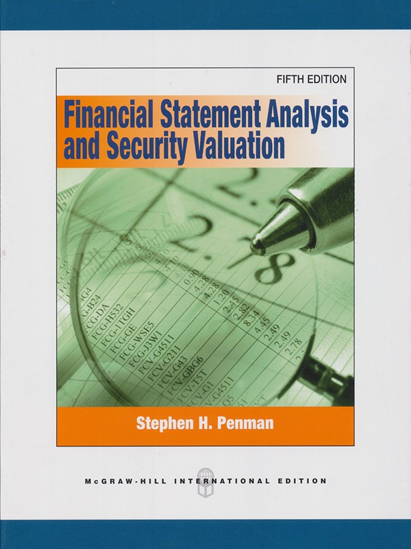 Financial Statement Analysis and Security Valuation Fifth Edition/Penman