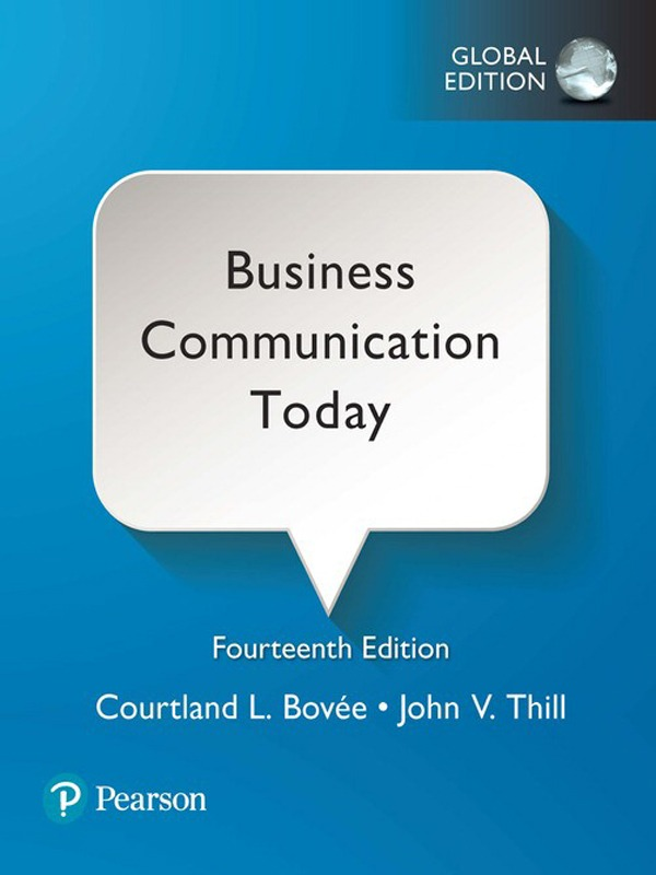 Business Communication Today 14th Edition / Bovee, Thill