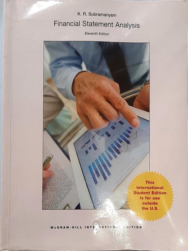 Financial statement analysis 11th edition / K.R. Subramanyam