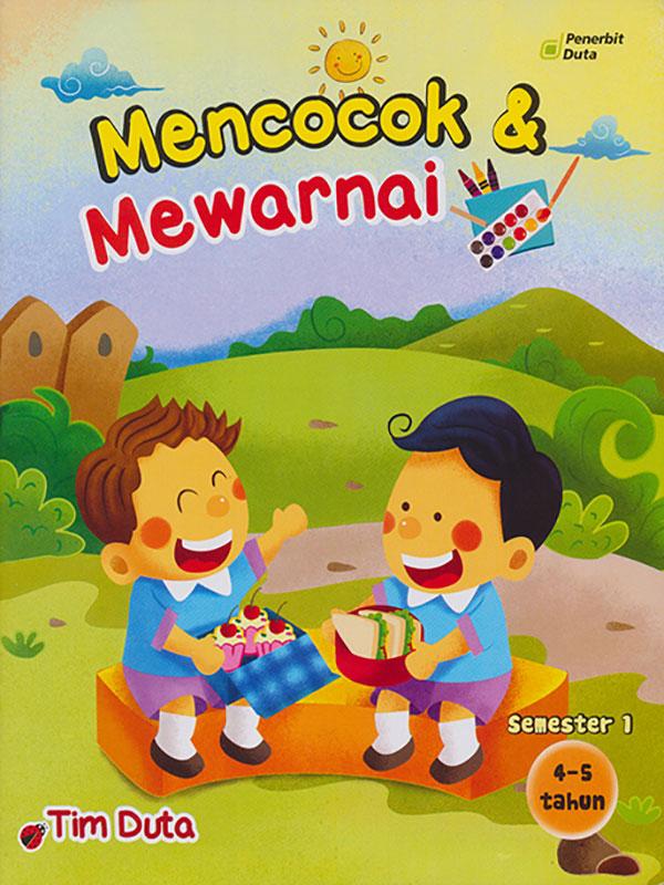 MENCOCOK DAN MEWARNAI 4-5/1