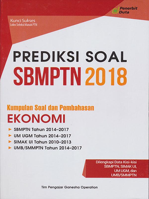 PREDIKSI SOAL SBMPTN 2018 EKONOMI