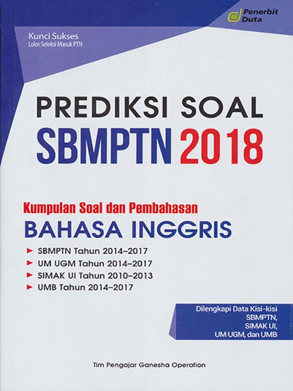 PREDIKSI SOAL SBMPTN 2018 B. INGGRIS