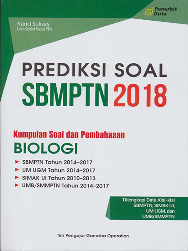 PREDIKSI SOAL SBMPTN 2018 BIOLOGI