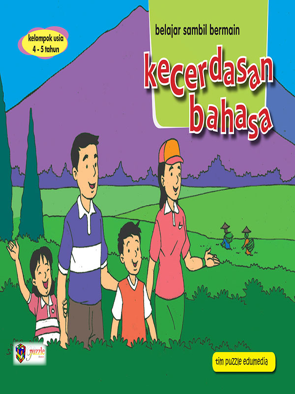 Buku Kecerdasan Bahasa 4-5 Th