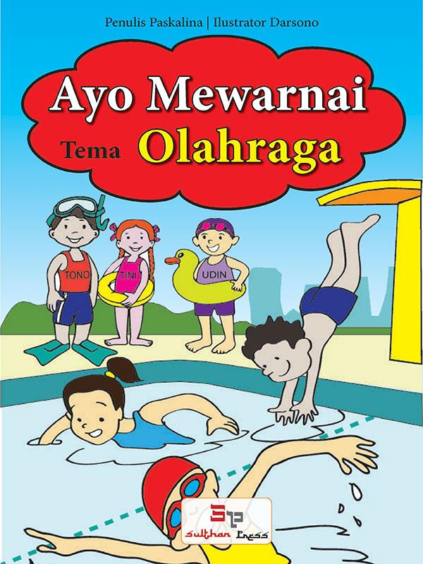 Ayo Mewarnai - Olahraga